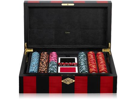 Cartier's Bold Poker Set
