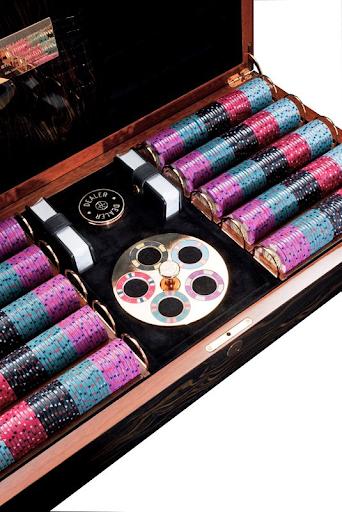 Lancelot Lancaster White – Buckingham Poker Box