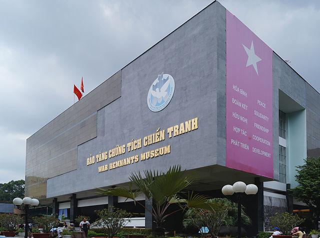best places to visit in Vietnam War Remnants Musuem