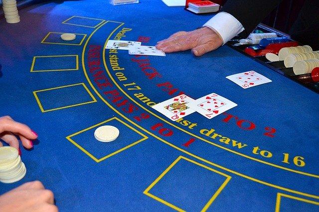 cards dealer blackjack