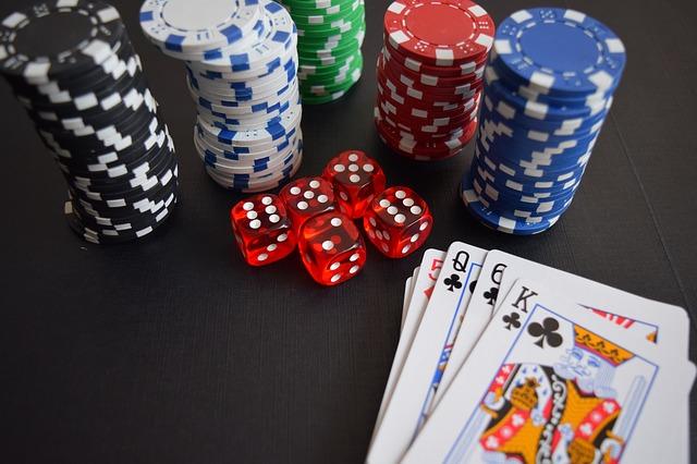 casino dice cards map